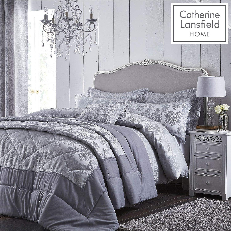 Damask Silver Bedroom Range  by Catherine Lansfield