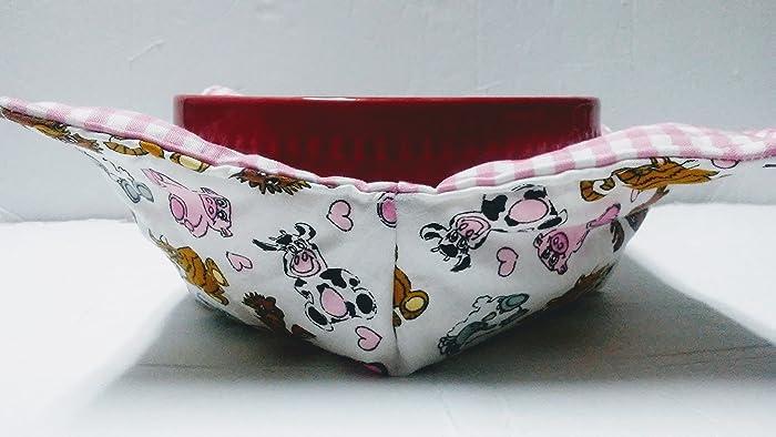 Amazon. Com: microwave bowl cozies/microbowl hot pad/bowl potholder.
