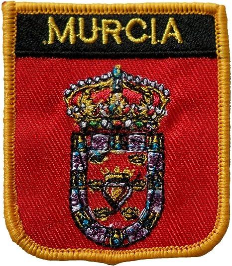 Parche Bordado con Escudo de Murcia España de 1000 Banderas: Amazon.es: Hogar