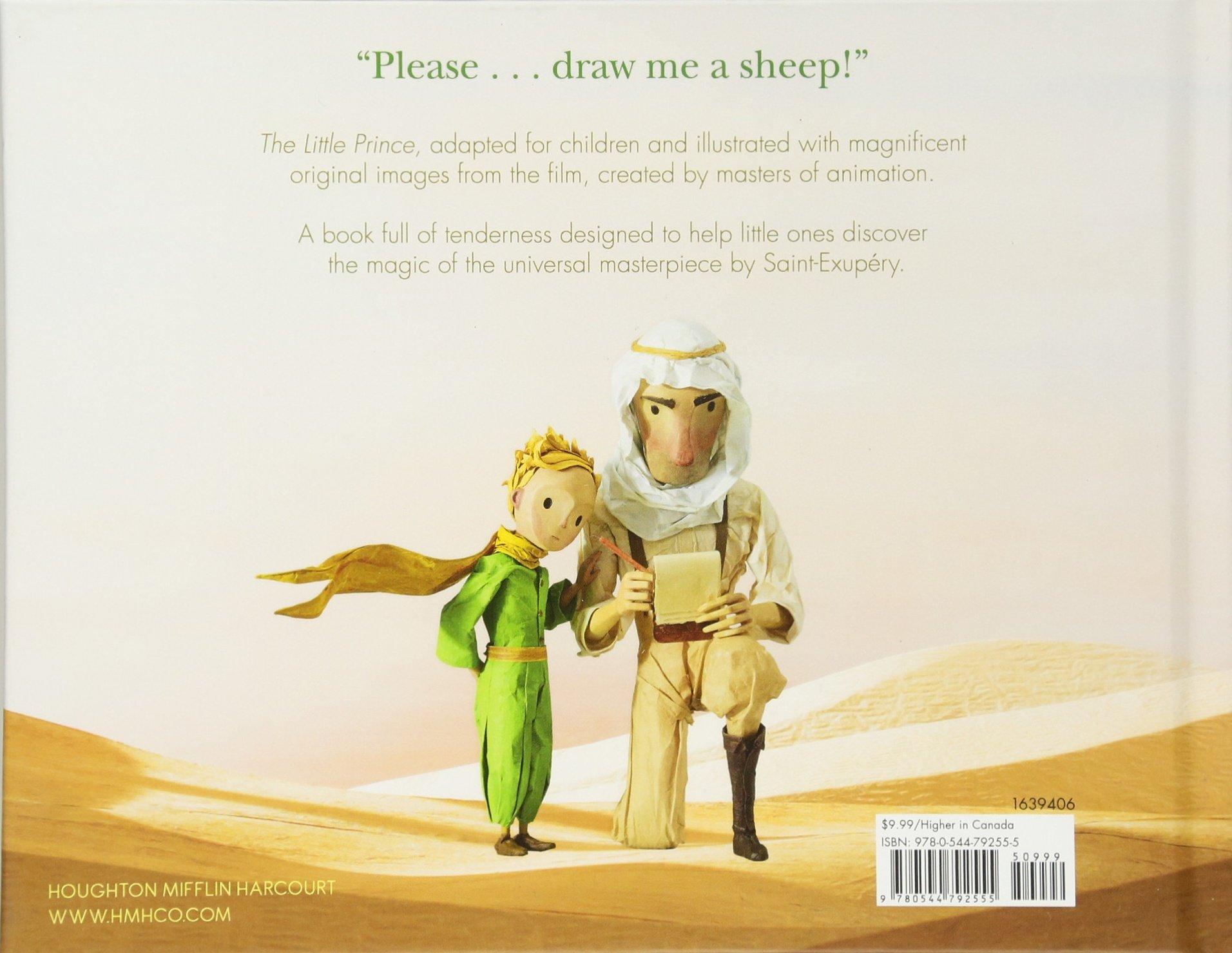 The Little Prince Read-Aloud Storybook: Abridged Original Text: Antoine de  Saint-Exupéry, Vali Tamm: 9780544792555: Amazon.com: Books
