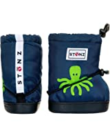 Stonz Three Season STAY-On Baby Booties, For Bare Feet or Shoes, For Mild or Cold Snow Weather (Unisex Infant/Toddler)