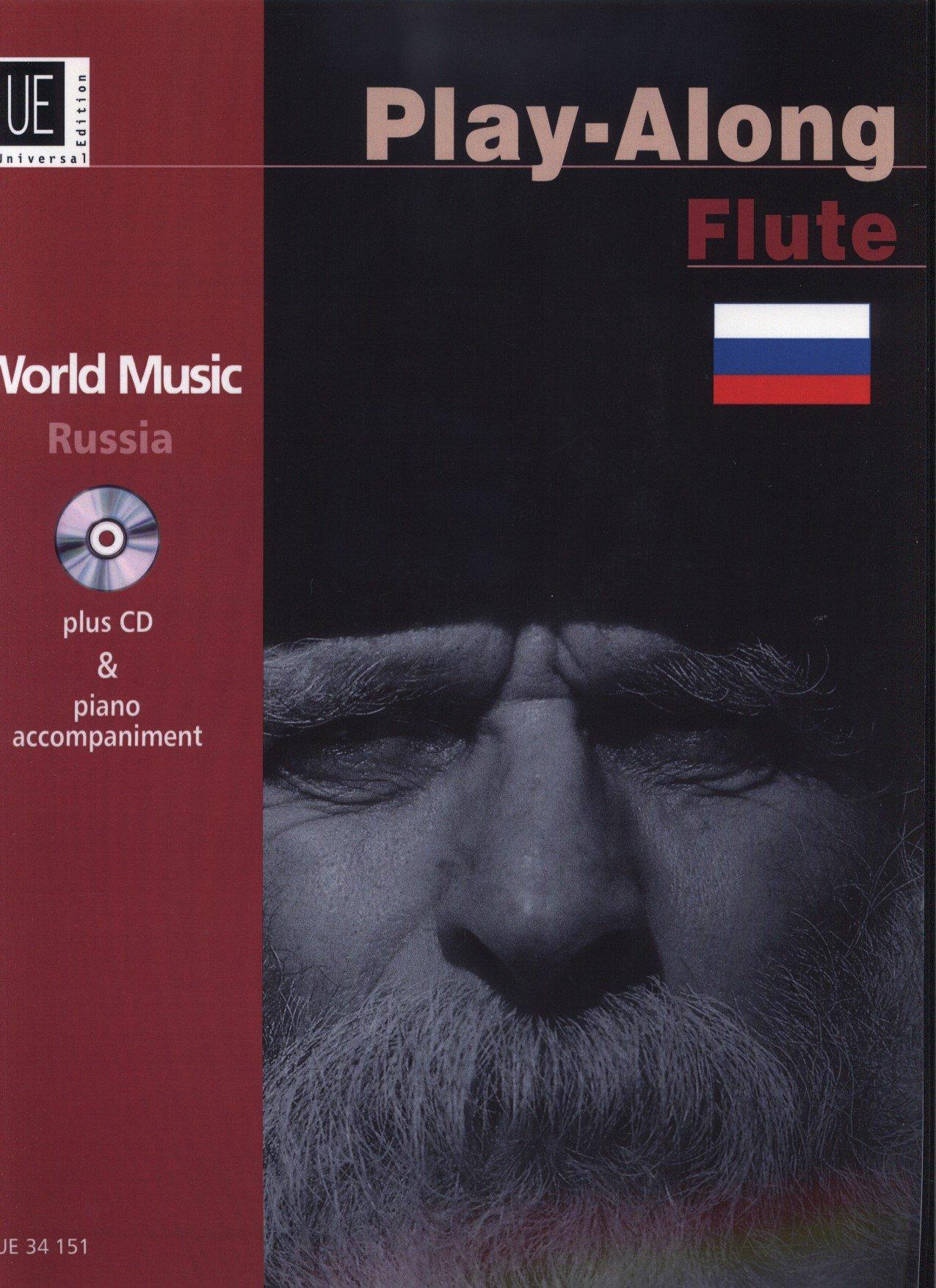 Download World Music Russia: Piano Part Plus Flute Part: Play-along Flute PDF
