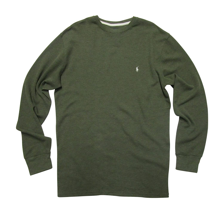 Polo Ralph Lauren Men's Big & Tall Thermal Shirt Long Sleeve Soft Light T-Shirt