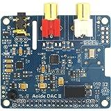 WINGONEER DAC II Hifi Sound Card | ES9018K2M | 384 kHz/32-bit | High-Resolutio | DSD format supported | For Raspberry Pi 3 Model B/3B/2B