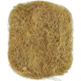 SunGrow 1.5 oz. Coconut Fiber, Comfortable Bedding for Small Birds and Animals, Nest Lining Material, Great for Nest Building and Hideouts