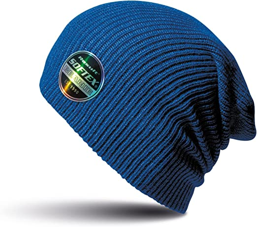 WINTER BEANIE 100/% acrylic lightweight RESULT HAT double thickness super soft