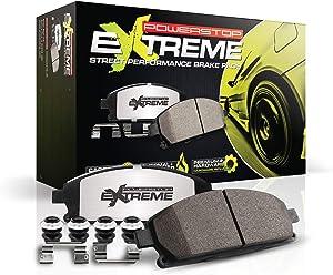 Power Stop Z26-1799, Z26 Front Carbon-Fiber Ceramic Brake Pads