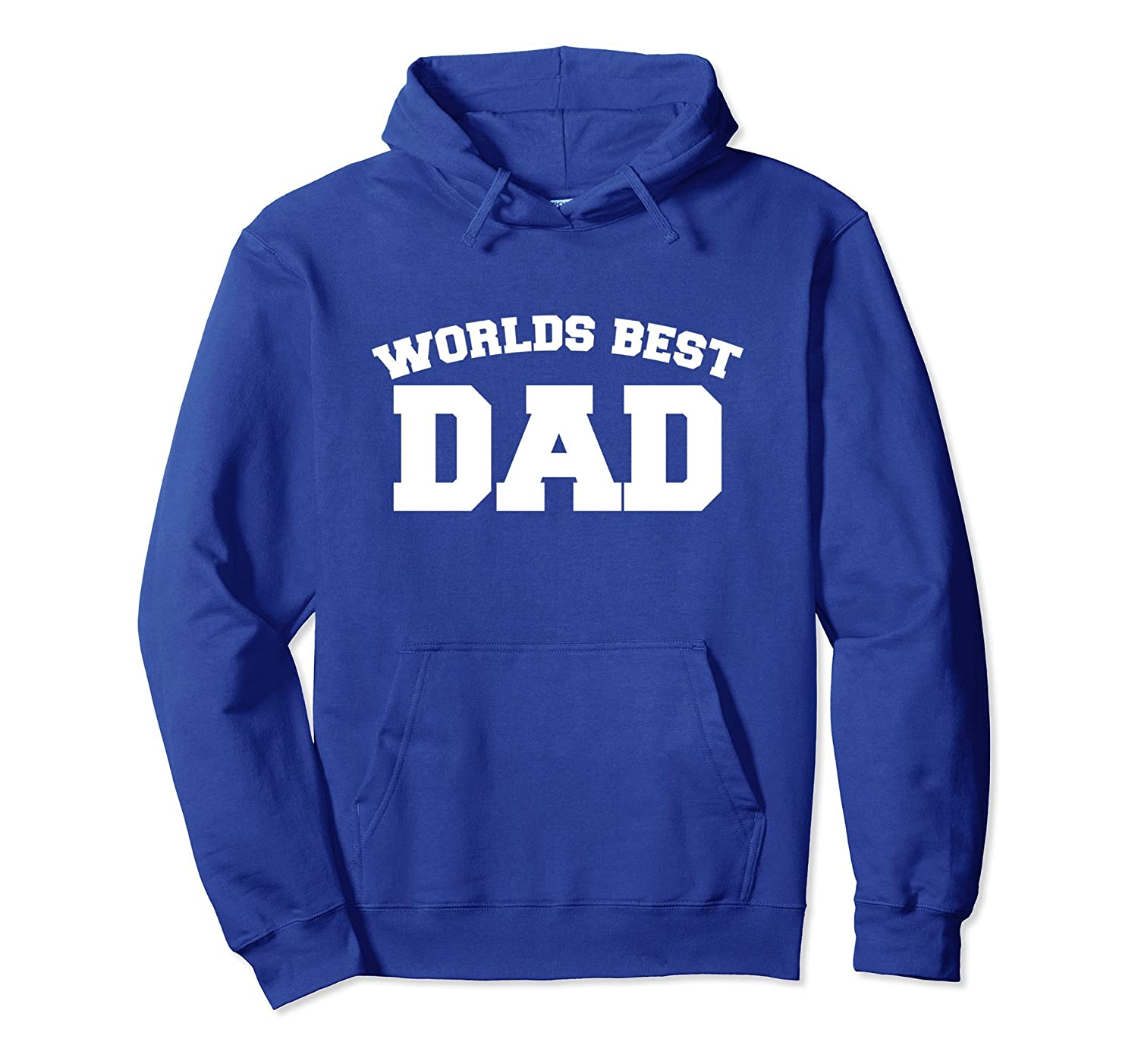 World's best Dad pullover hoodie sporty Dads hoodies father'-TH