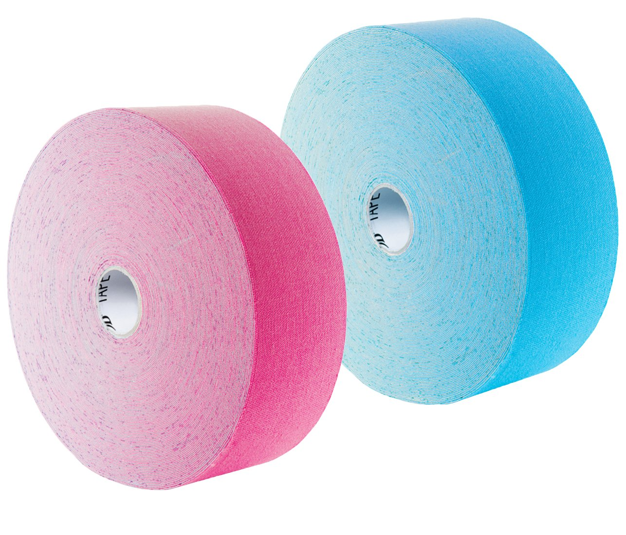 3B Scientific Kinesiology Tape - Water-Resistant, Air-Permeable Recovery Sports Athletic Aid - 2'' x 103 ft Rolls - Bundle of 2 Rolls - Blue, Pink