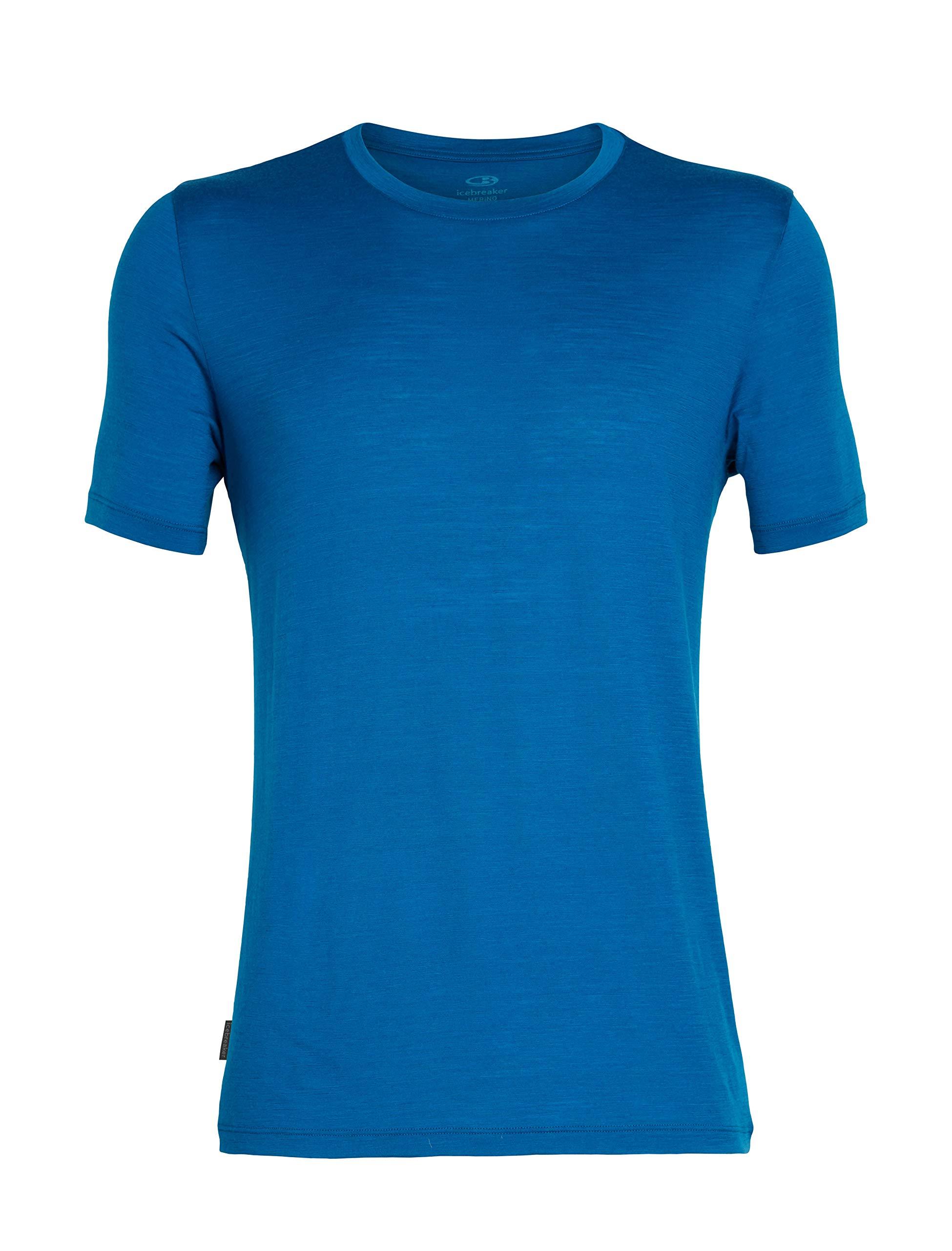 Icebreaker Tech Lite Short-Sleeve Crew Shirt - Men's Isle, XXL