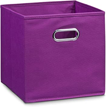 Zeller 14115 - Caja de almacenaje de tela, plegable, 32 x 32 x 32 ...