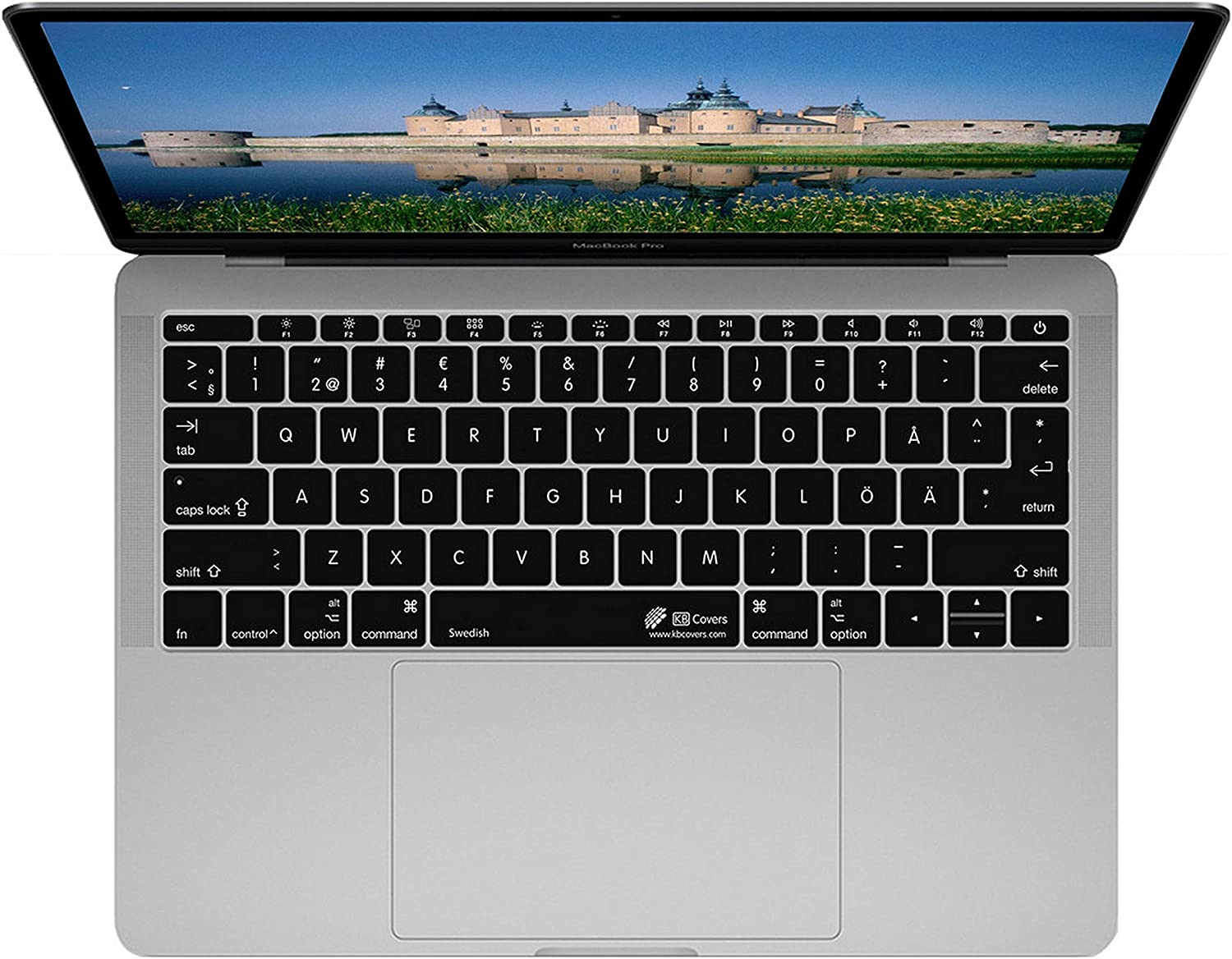 KB Covers SWISS-M12M13 Compatible with MacBook 12 Inch Retina//MacBook Pro 13 Inch Late 2016+