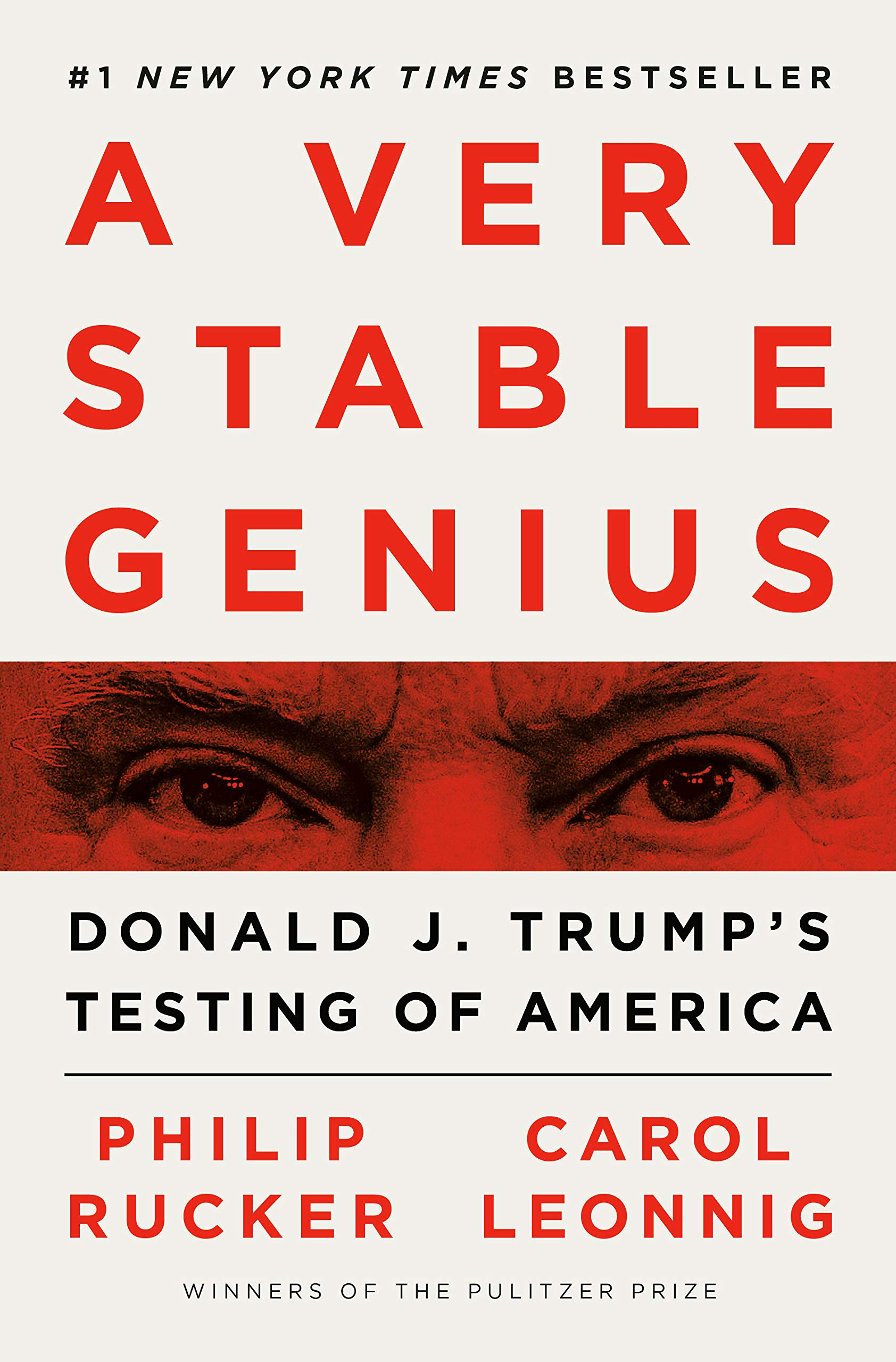 Amazon | A Very Stable Genius: Donald J. Trump's Testing of ...