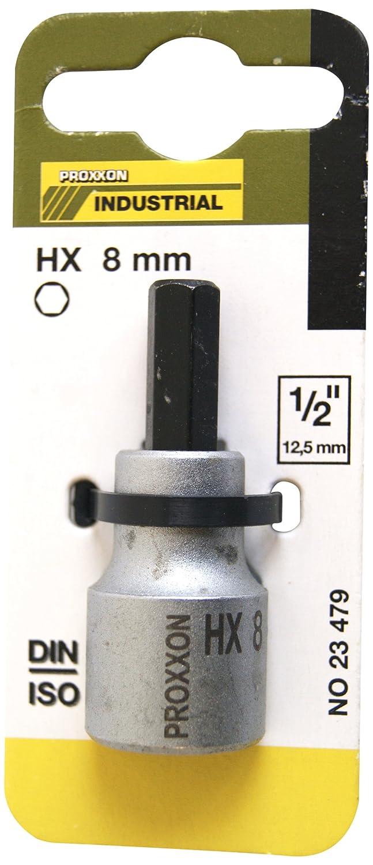 12,5/mm Proxxon Douilles Allen 23479D 1//2 8/mm