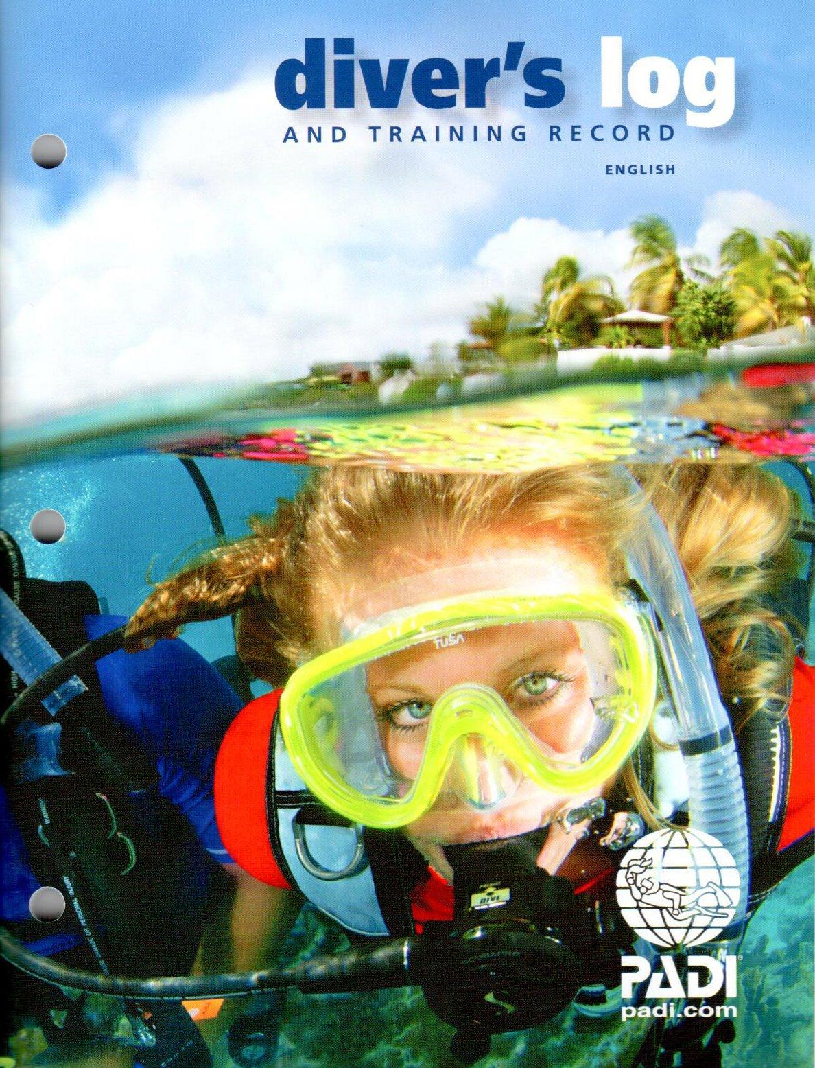PADI Diver's Blue Log and Training Record (70047) Rev. 3.0 by Padi