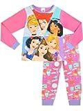 Disney Princesse - Ensemble De Pyjamas - Cendrillon Ariel Jasmine Blanche-neige Raiponce et Belle - Fille