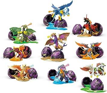 Mattel Breakout Beasts Huevo con Figura y Slime Serie 2 GCK31 ...