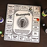 Beeropoly Beer Drinking Game by HomeWetBar | Perfect for Parties and Tailgating , Includes Beer Caps and Dice
