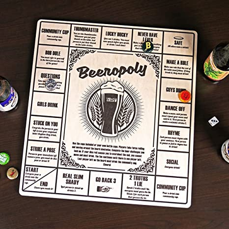 Drunk monopoly rules