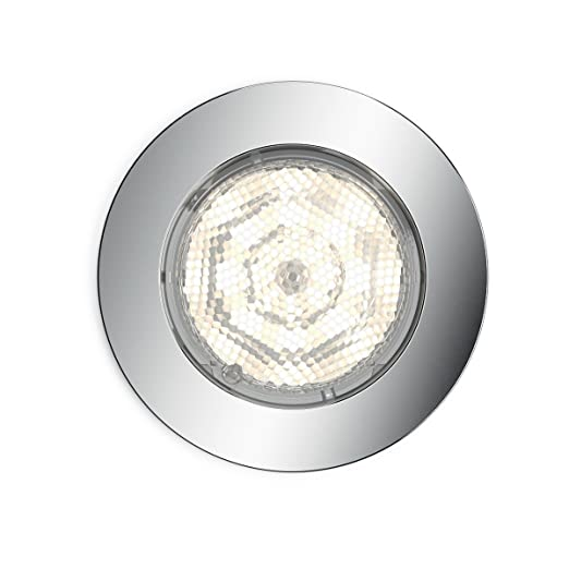 Philips mybathroom dreaminess round recessed led spotlight includes 1 x 4 5 w led light
