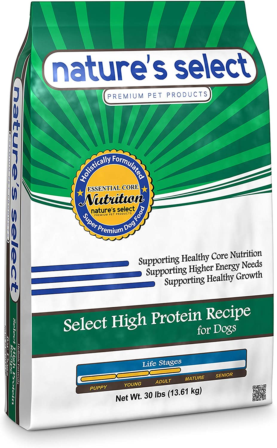 Nature's Select High Protein Recipe - Chicken & Rice Puppy Dry Dog Food