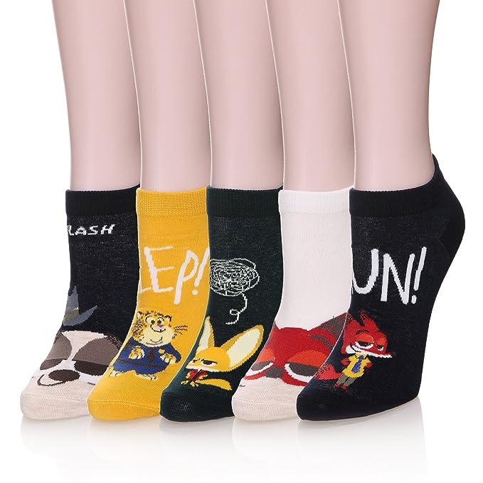 Soft Breathable Cartoon Cat Design Women Girl Cotton Sock Short Sock Boat Sock