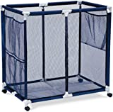 Pool Accessories Balls and Outdoor Toys Storage Bin - Pool and Ball Storage Organizer with & Amazon.com : Pool Toy Storage Bin With Noodle Holder For Rafts Vests ...
