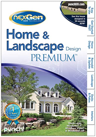 Home And Landscape Design Premium With NexGen Technology V3