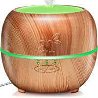 ArtNaturals Aromatherapy Essential Oil Diffuser – (5.0 Fl Oz / 150ml Tank) – Ultrasonic Cool Mist Aroma Humidifier - Adjustable Mist Mode, Auto Shut-Off Whisper Quiet and 7 Color LED Lights – For Home, Office & Bedroom