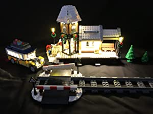 brickled LED Light Kit for Lego 10259 Winter Village Station USB Powered