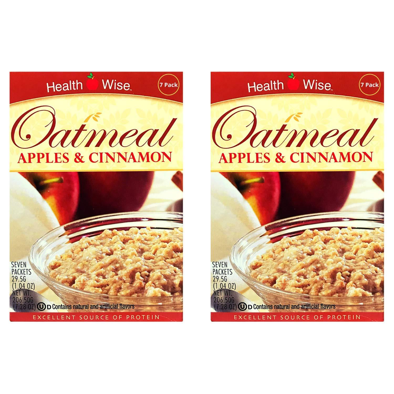 Healthwise - Oatmeal (Apples & Cinnamon, 2 Pack)