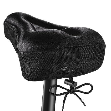 OMORC Funda Sillin Bicicleta Gel Comodo, Acolchada e Impermeable ...