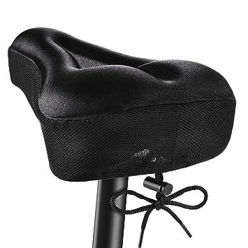 7845e7b1ded OMORC Funda Sillin Bicicleta Gel Comodo, Acolchada e Impermeable Sillin Gel  para la Bici,
