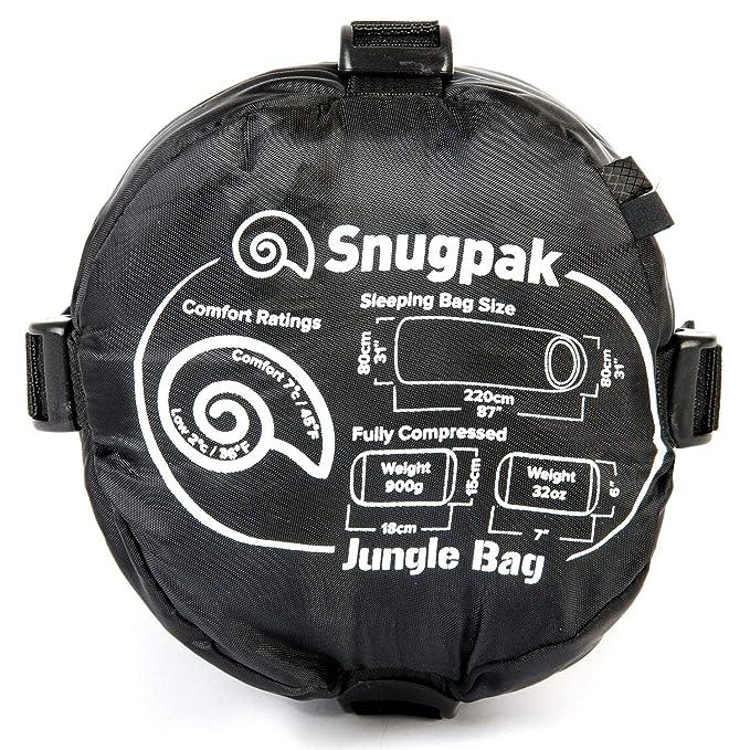 SnugPak - Bolso de Mano para Zurdos con Cremallera