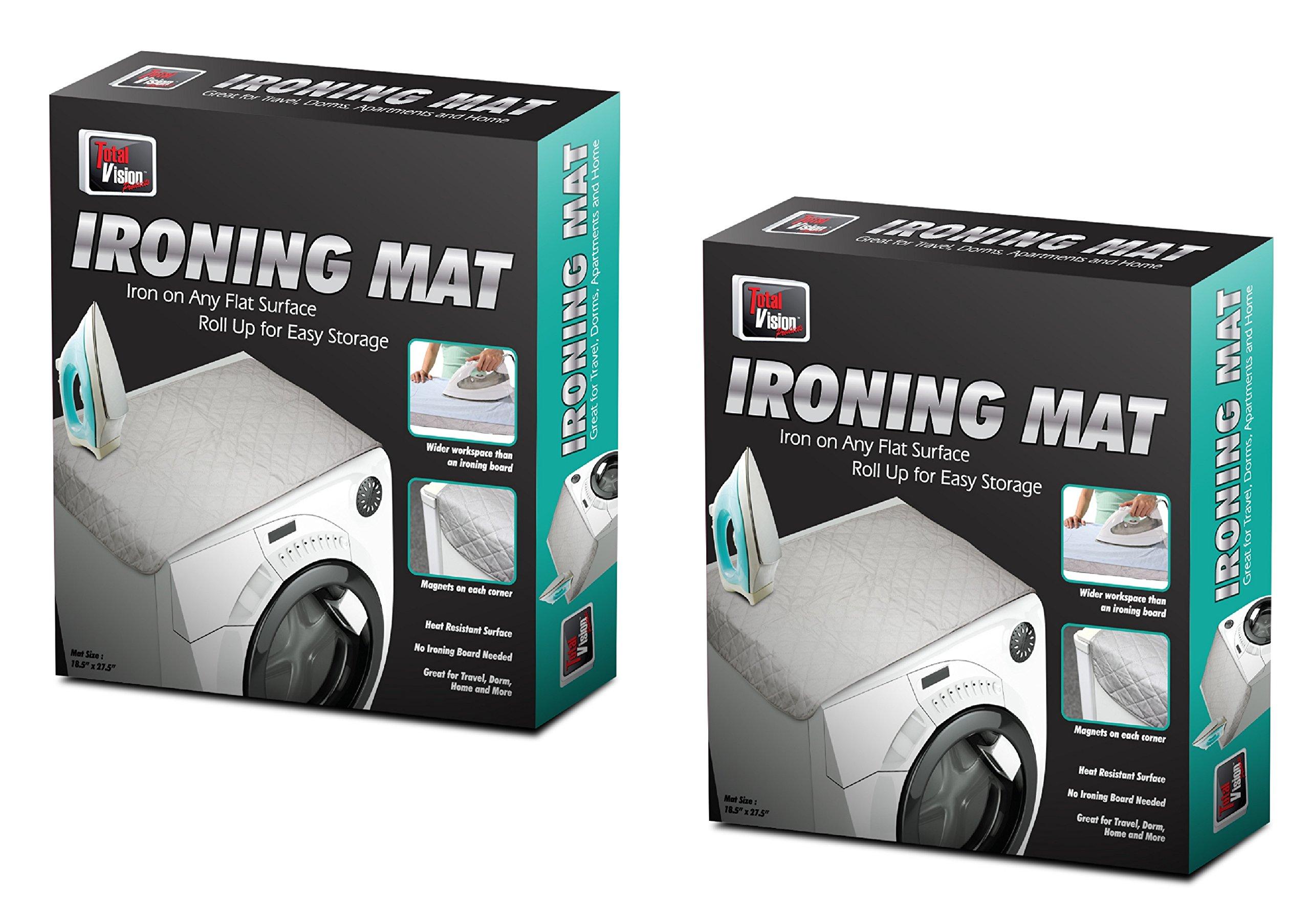 2 PACK Portable Flat Magnetic Heat Ironing Mat