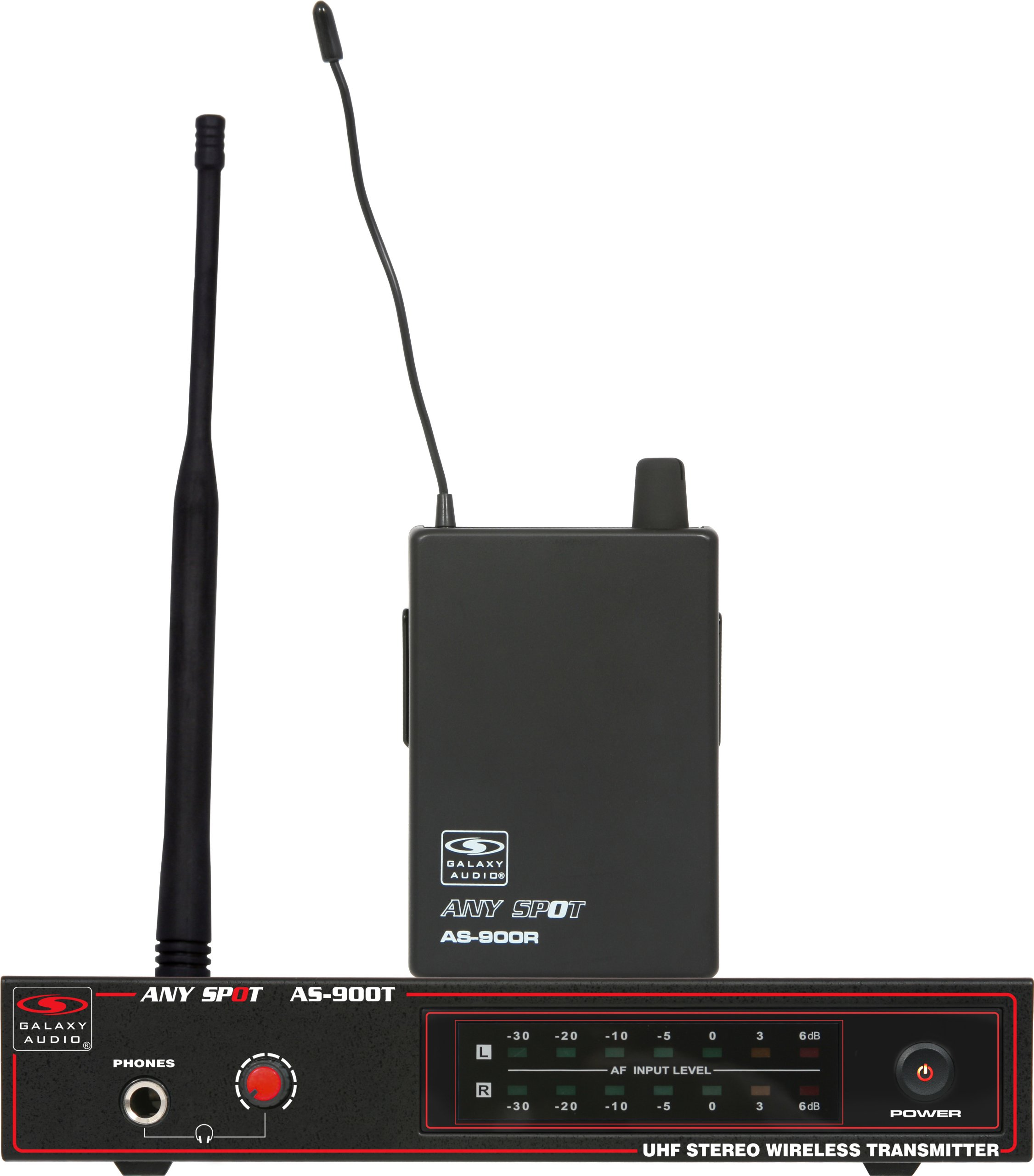 Galaxy Audio AS-900 Wireless In-Ear Personal Monitor System, Code N1 (514.4 MHz)