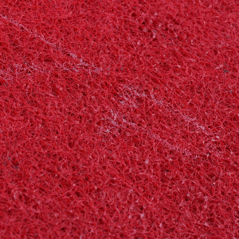 Globalflashdeal 200mm Diamant Nylon Meule abrasive Molette de polissage rouge