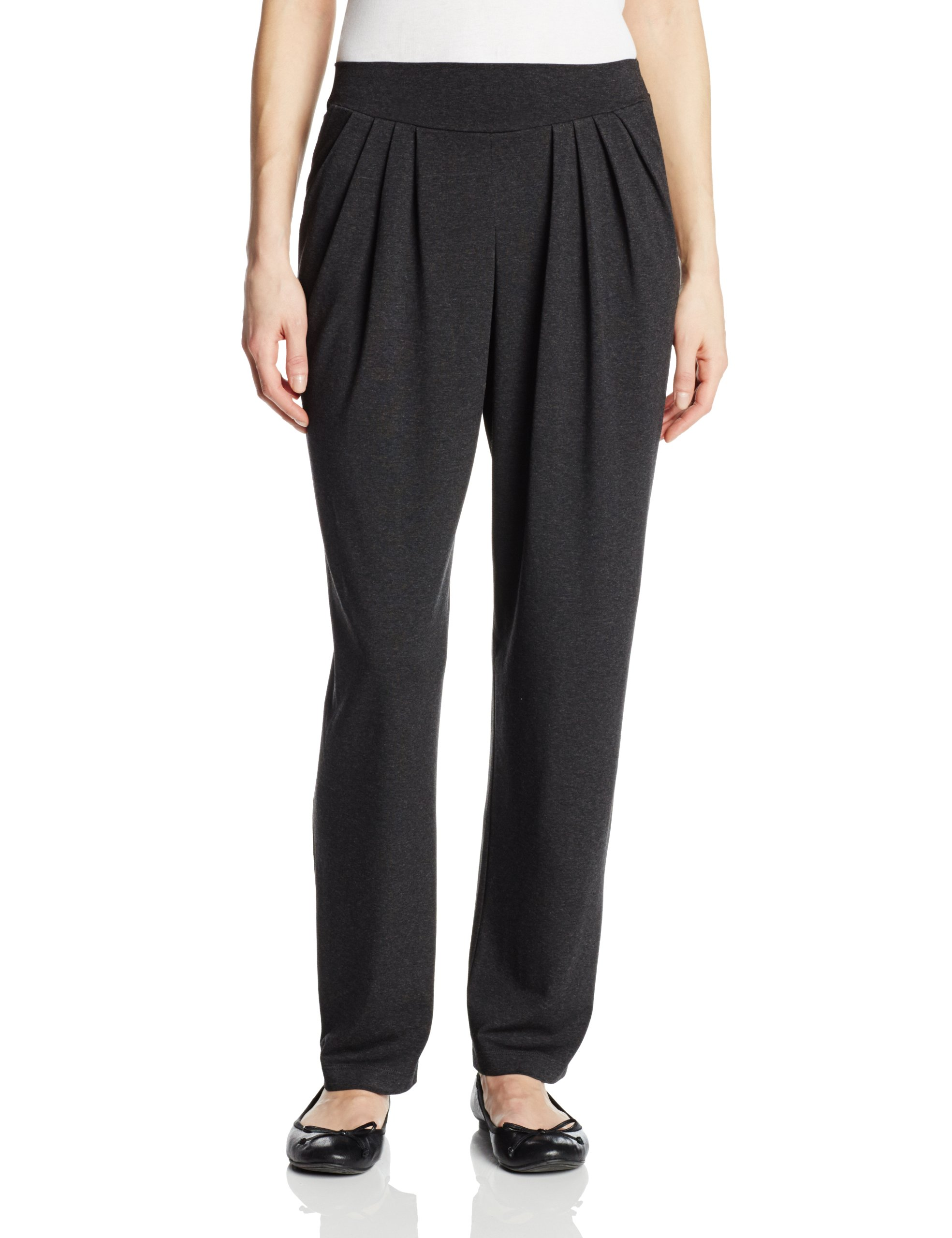Only Hearts Women's So Fine Pleated Trouser, Carbon, Small