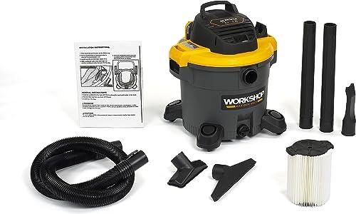 WORKSHOP Wet Dry Vac WS1200VA Heavy Duty General Purpose Wet Dry Vacuum Cleaner