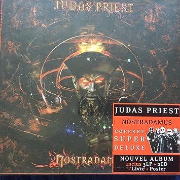 judas priest - Nostradamus - SUPER DELUXE BOX set (Nouvel Album Inc. 3LP+ 2CD+ Livre + Poster)  - Amazon.com Music