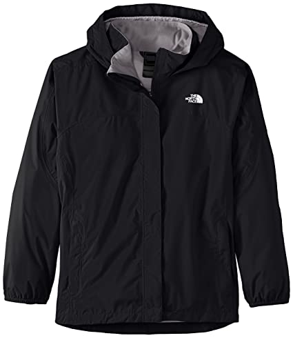 The North Face G Resolve Reflective Jacket Chaqueta, niña, Negro, XS
