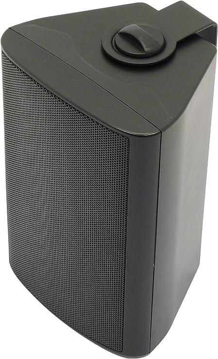 Visaton VS-WB10B - Altavoces (Universal, De 2 vías, Montar en la pared, 40W, 60W, 100-20000 Hz) Negro