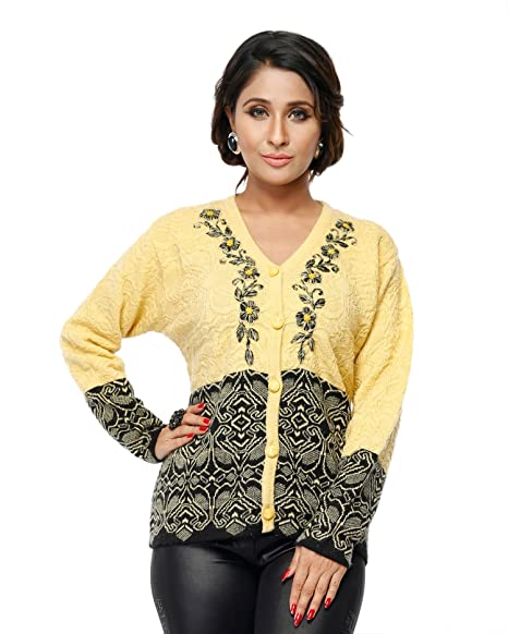 Modeve Women s Cardigan Sweater for Winter  Amazon.in  Clothing    Accessories 275af7e72