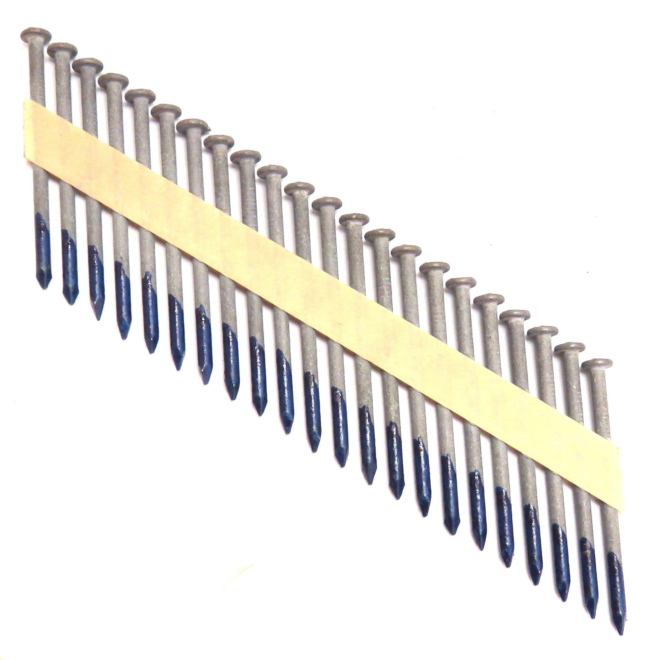 TrueSpec KZB24131P Tree Island 2-1/2'' x .131'' Zincgard Hot Galvanized Hardware Nail Framing Nails