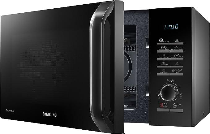 Samsung MC28H5135CK Microondas con Grill de 28 L, Interior de ...