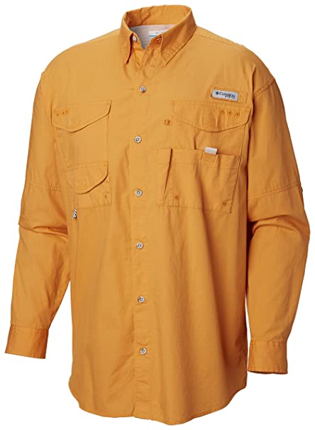 05118bae Amazon.com: Columbia Men's PFG Bonehead II Long Sleeve Shirt, Cotton,  Relaxed Fit: Clothing