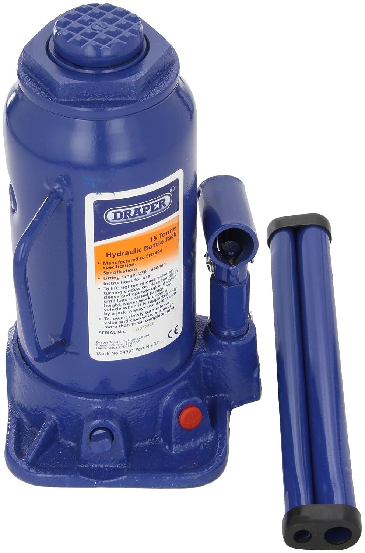 Draper 04981 - Cric a bottiglia, 15 t Draper Tools Ltd. BJ15