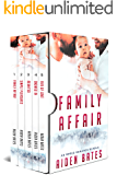 Family Affair: An Mpreg Romance Bundle (Aiden's Collection Book 3)