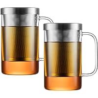 PURE550S x2: Juego de 2 Vaso de Té