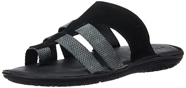 Ruosh Men's Leather Sandals and Floaters Men's Fashion Sandals at amazon